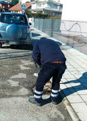 Guadarrama revisa su alcantarillado para evitar problemas con las lluvias y el deshielo