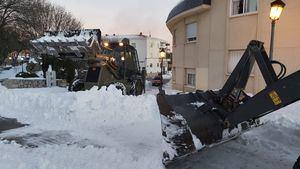 Hoyo de Manzanares solicita la Declaración de zona catastrófica tras el temporal de nieve