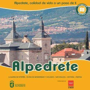El Ayuntamiento de Alpedrete lanza un nuevo plano guía turístico de la localidad
