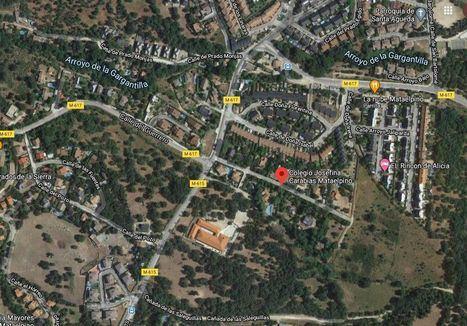 El Colegio Josefina Carabias de Mataelpino tendrá un acceso más seguro desde la M-615