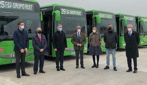 La Comunidad impulsa la renovación de la flota de interurbanos con autobuses más sostenibles