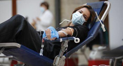 El Centro de Transfusión recogió casi 230.000 donaciones de sangre durante 2020 gracias a la solidaridad de los madrileños