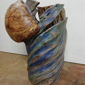 Escultura 'Saliendo del huracán'