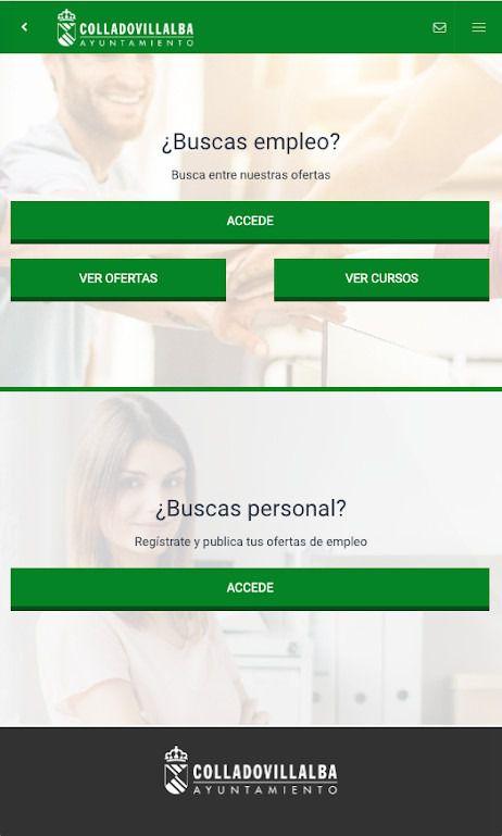 El Ayuntamiento de Collado Villalba pone en marcha una nueva App para la búsqueda de empleo