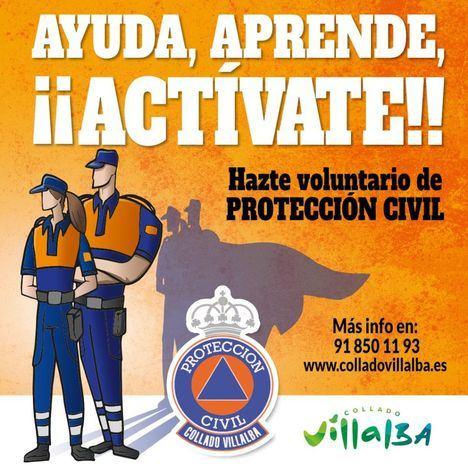 Protección Civil de Collado Villalba lanza una campaña para captar nuevos voluntarios