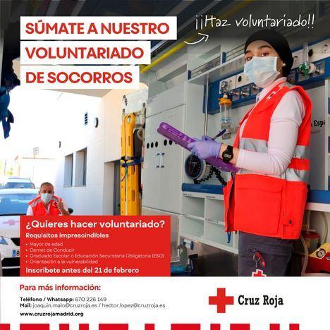 La Asamblea Cruz Roja en Collado Villalba busca voluntarios para su base de socorros