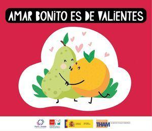 'Amar bonito es de valientes': el mensaje de la Mancomunidad THAM con motivo de San Valentín