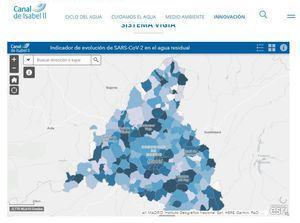 El Canal de Isabel II informa semanalmente sobre la presencia de COVID19 en las aguas residuales de la región