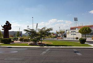 LA RFEF anuncia que las instalaciones de la Ciudad del Fútbol de Las Rozas se usarán para la vacunación masiva de los vecinos del Noroeste