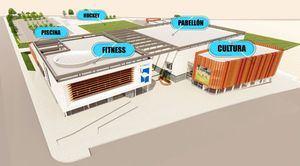El Pleno de Las Rozas aprueba el crédito que permitirá comenzar las obras del nuevo Polideportivo de La Marazuela