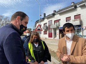La directora general de Carreteras analizó en Alpedrete varias actuaciones de su departamento