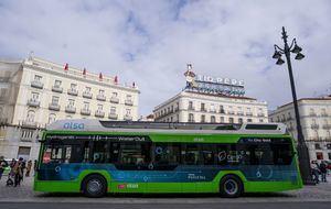 La Comunidad de Madrid prueba el primer autobús de hidrógeno que circulará en España