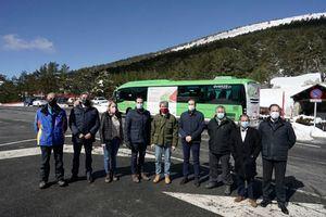 Este fin de semana se pone en servicio el nuevo autobús lanzadera al Puerto de Navacerrada, Cotos y Valdesquí
