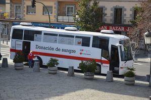 Guadarrama muestra su agradecimiento a los vecinos que se han volcado con la campaña de donación de sangre