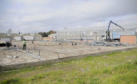 Boadilla anima a colaborar en la reconstrucción del centro especial de empleo La Veguilla