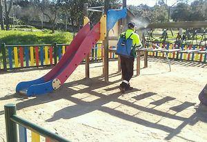 El Ayuntamiento de Galapagar reabre desde este viernes los parques infantiles, pero con aforo limitado