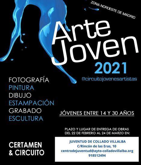 Abierto el plazo para presentar los trabajos al 'Certamen del Circuito de Jóvenes Artistas 2021'