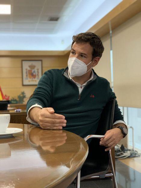 """José de la Uz, alcalde de Las Rozas: """"Lo importante es ver cómo evoluciona la pandemia"""""""