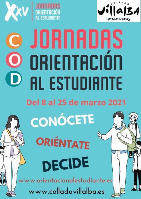 Collado Villalba celebra del 8 al 25 de marzo la XXV edición de las Jornadas de Orientación al Estudiante