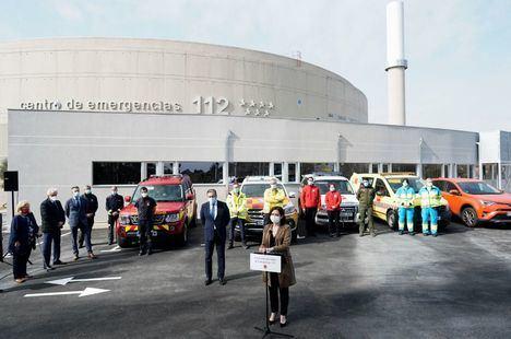 El Centro de Emergencias 112 de la Comunidad de Madrid estrena nuevas instalaciones