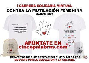 La Asociación de Escritores Solidarios Cinco Palabras de Colmenarejo organiza su primera Carrera Solidaria Virtual