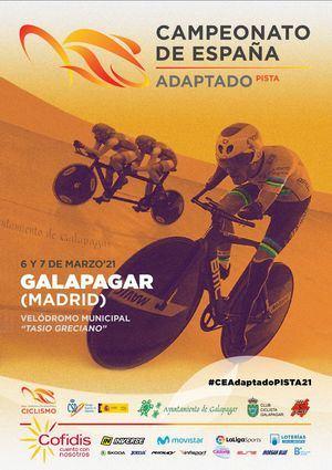El velódromo de Galapagar acoge el Campeonato de España de Ciclismo Adaptado
