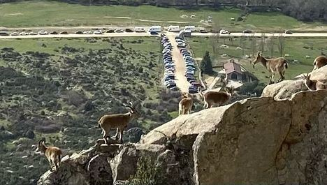 El Ayuntamiento restringe el acceso de vehículos a la Ermita de El Boalo durante los fines de semana
