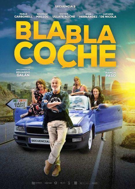 Pablo Carbonell estará el 27 de marzo en Moralzarzal con la obra de teatro 'BlaBla Coche'