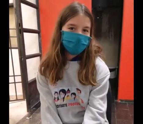 Los jóvenes de El Escorial se suman a la campaña regional para sensibilizar sobre el COVID19
