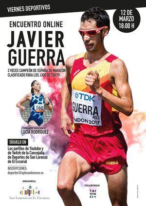 Vuelven los 'Viernes deportivos' a San Lorenzo con loa atletas Javier Guerra y Lucía Rodríguez
