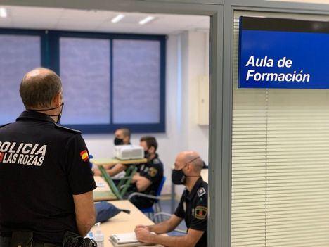 La Policía Local de Las Rozas se forma para actuar ante casos de ocupación ilegal de viviendas