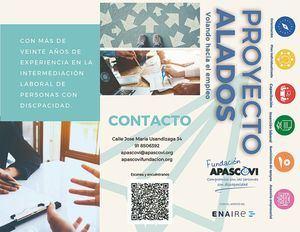 La Fundación APASCOVI y ENAIRE colaboran en la inserción laboral de personas con discapacidad intelectual