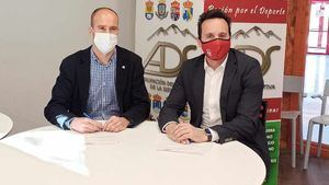 La Agrupación Deportiva de la Sierra y Aldeas Infantiles firman un acuerdo de colaboración