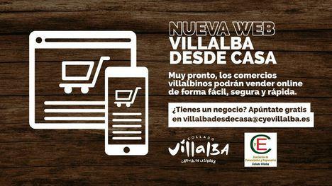 El Ayuntamiento de Collado Villalba y CYE presentan la plataforma digital 'Villalbadesdecasa'