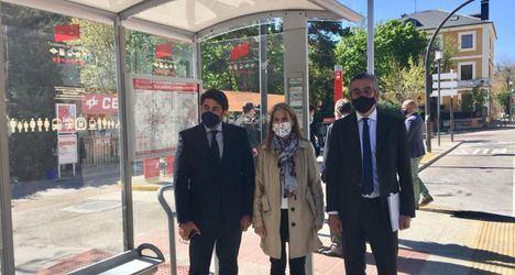 La Comunidad de Madrid mejora la accesibilidad de 25 paradas de autobús de San Lorenzo de El Escorial