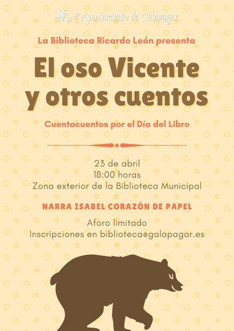La Biblioteca de Galapagar organiza un cuentacuentos al aire libre con motivo del Día del Libro