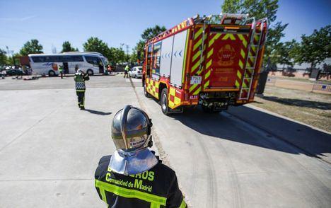 Las intervenciones de los bomberos de la Comunidad por incendios descendieron un 17,9 por ciento en 2020