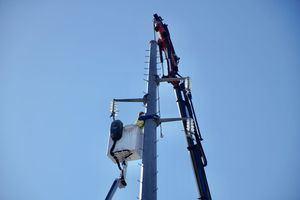 Finaliza el soterramiento de las líneas de alta tensión de La Marazuela, en Las Rozas, con la retirada de las últimas torres