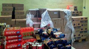 Guadarrama realiza un nuevo reparto de 8 toneladas de alimentos procedentes del FEAD