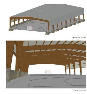 Luz verde a las obras de la nueva pista deportiva cubierta del Colegio El Enebral de Collado Villalba