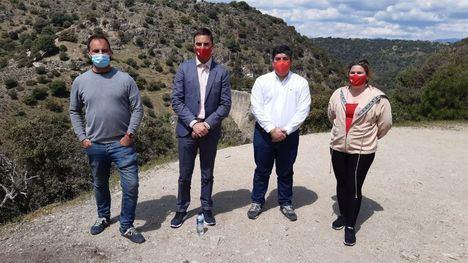 Los socialistas de Torrelodones, Las Rozas y Galapagar reivindican la protección de la Presa del Gasco con la visita de Juan Lobato