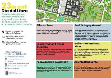 San Lorenzo de El Escorial propone una ruta literaria con premio final con motivo del Día del Libro