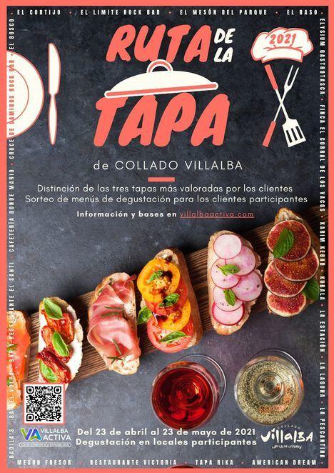 Hasta el 23 de mayo, 21 bares y restaurantes participan en la Ruta de la Tapa de Collado Villalba