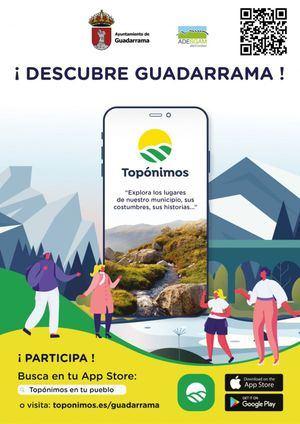 Guadarrama lanza un proyecto colaborativo para recuperar la historia de los topónimos de la localidad