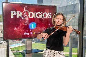 Sofía Rodríguez, una virtuosa del violín de 11 años que vive en Las Rozas