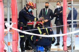La Comunidad forma a sus aspirantes al Cuerpo de Bomberos en operaciones de salvamento en altura y en espacios confinados