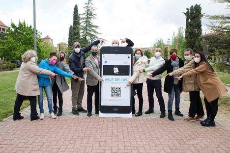 Las Rozas repartirá 1.000 tarjetas regalo de 10 euros entre quienes se descarguen la app Las Rozas Market