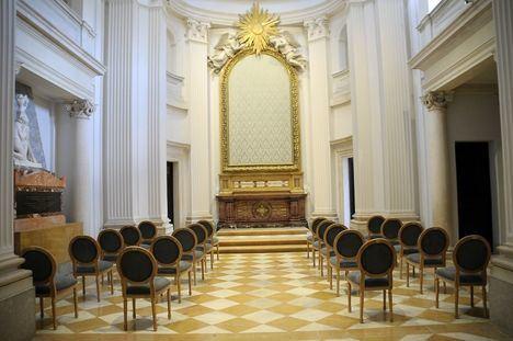Boadilla del Monte continúa con los trabajos de restauración y mejora en el interior del Palacio del Infante D. Luis