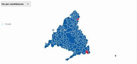 El Partido Popular se impone en todas las localidades del Noroeste como fuerza más votada, mientras asciende el apoyo a Más Madrid y el PSOE pierde votos