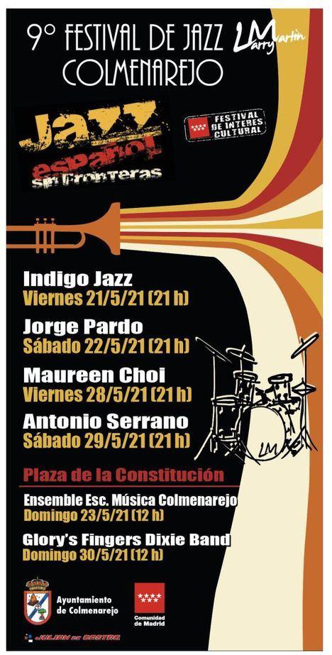 Desde el 21 de mayo, Colmenarejo celebra la novena edición de su Festival de Jazz